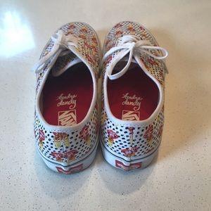 Size 8.5 VANS sneakers  (Kendra Dandy edition)